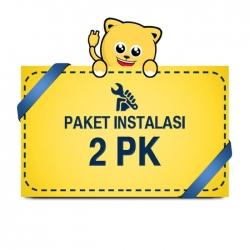 Paket Pasang AC 1,5 - 2 PK Pipa 1/4 3/8 5m BASIC