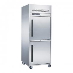 GEA L-RW8U1HH Stainlees Steel Upright Freezer 550 Liter - Silver