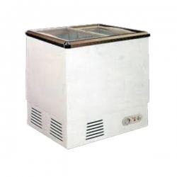 GEA SD-132P Sliding Flat Glass Freezer 132 Liter