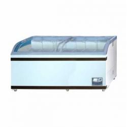 GEA SD-700BY Sliding Curve Glass Freezer Premium Series 700 Liter