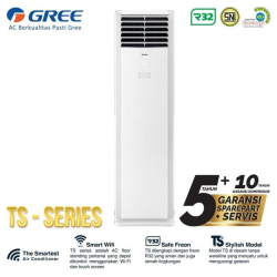 Gree GVC-24TS(S) AC Deluxe Floor Standing TS Series 3 PK (380V) 3 Phase