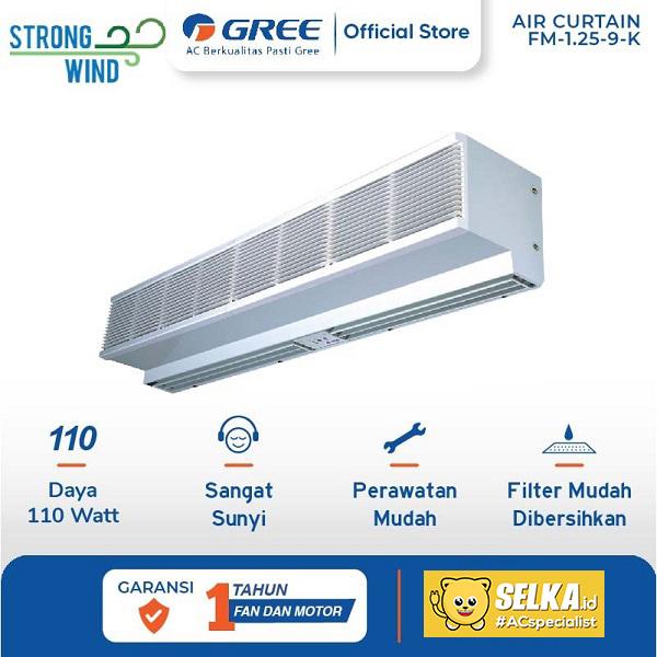 Gree FM-1.25-9-K Air Curtain Standard