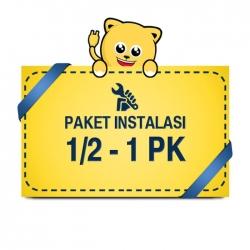 Paket Pasang AC 1/2 - 1 PK Pipa 1/4 3/8 3m BASIC