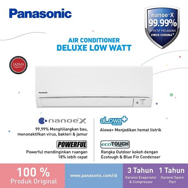 Panasonic CS-XN5WKJ AC Split 1/2 PK Deluxe Low Watt