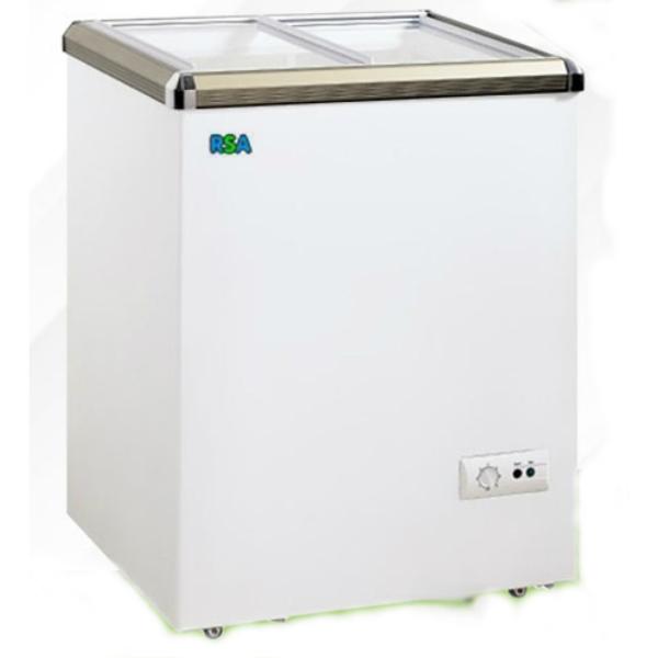 Harga Jual RSA XS 110 Sliding Chest Freezer 100 Liter
