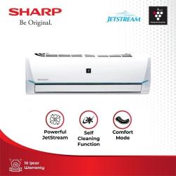 harga ac sharp terbaru 1/2 pk plasmacluster